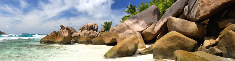 Erfolgreich-reisen.de - Länderinfos  - Seychellen - Strandfelsen