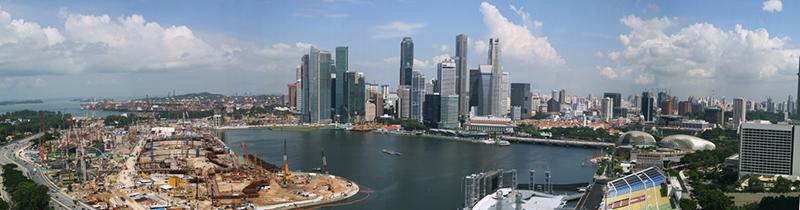 Erfolgreich-reisen.de  - Singapur - Skyline