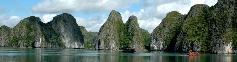 Erfolgreich-reisen.de  - Vietnam - Felsenbucht