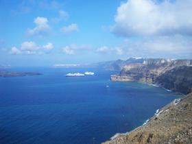 Die Vulkaninsel Santorin