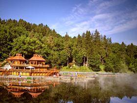 Sovata in Transsilvanien und <br>ein See mit sehr viel Salz